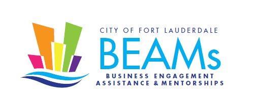 City of Fort Lauderdale Business Engagement, Assistance & Mentorships (BEAMs) Logo