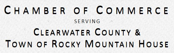 Chamber of Commerce Clearwater County and Rocky Mountain House Logo