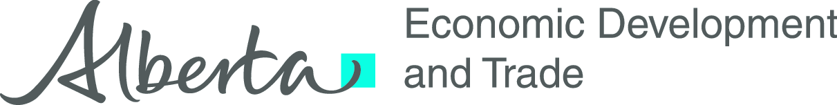 Alberta Economic Development and Trade Logo