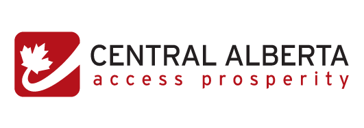 Central Alberta: Access Prosperity  Logo