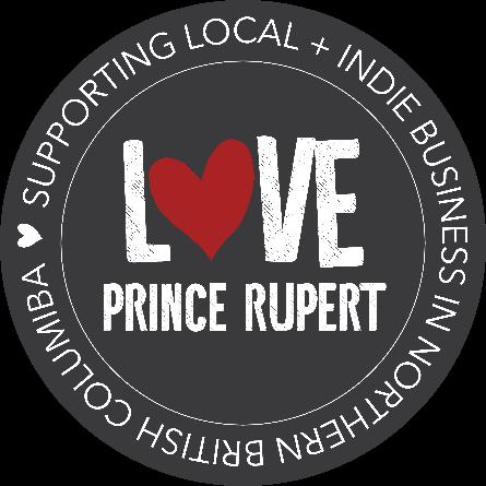 Love Prince Rupert Logo