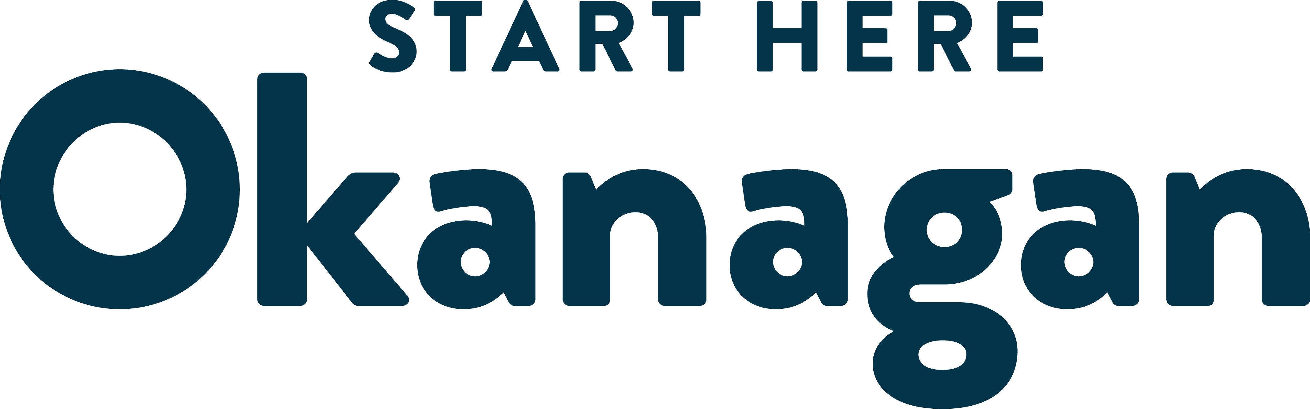 Start Here Okanagan Logo